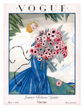 Vogue Cover - June 1923 Giclee Print by Georges Lepape