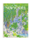 The New Yorker Cover - July 30, 1984 Regular Giclee Print by Arthur Getz