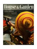 House & Garden Cover - June 1944 Regular Giclee Print by Anton Bruehl