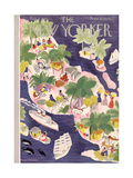The New Yorker Cover - February 2, 1935 Regular Giclee Print by Roger Duvoisin