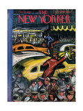 The New Yorker Cover - November 20, 1943 Giclee Print by Victor De Pauw