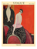 Vogue Cover - July 1920 Regular Giclee Print by Georges Lepape