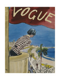 "Vogue - January 1932 Regular Giclee Print by Carl ""Eric"" Erickson"