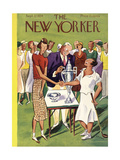 The New Yorker Cover - September 22, 1934 Giclee Print by Harry Brown