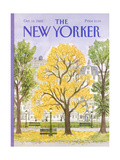 The New Yorker Cover - October 14, 1985 Giclee Print by Barbara Westman