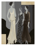 Vogue - February 1930 Giclee Print by William Bolin