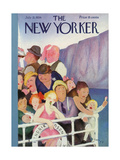 The New Yorker Cover - July 21, 1934 Regular Giclee Print by William Cotton