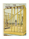The New Yorker Cover - March 22, 1969 Giclee Print by James Stevenson
