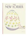 The New Yorker Cover - April 12, 1982 Regular Giclee Print par James Stevenson