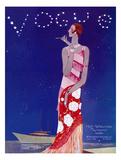 Vogue Cover - July 1926 - Flapper Nights Regular Giclee Print by Eduardo Garcia Benito