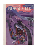The New Yorker Cover - January 24, 1942 Regular Giclee Print by Beatrice Tobias
