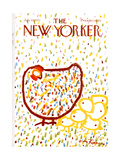 The New Yorker Cover - July 10, 1971 Regular Giclee Print by Andre Francois