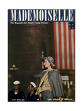 Mademoiselle Cover - July 1944 Reproduction procédé giclée par Fernand Fonssagrives
