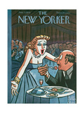 The New Yorker Cover - June 5, 1954 Regular Giclee Print by Peter Arno