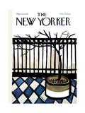 The New Yorker Cover - March 20, 1978 Giclee-trykk av Donald Reilly