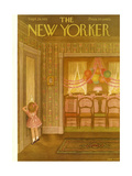The New Yorker Cover - September 29, 1951 Giclee Print by Edna Eicke