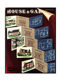 House & Garden Cover - February 1940 Regular Giclee Print by Robert Harrer