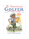 The American Golfer June 28, 1924 Regular Giclee Print by James Montgomery Flagg