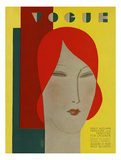 Vogue Cover - August 1929 Regular Giclee Print by Eduardo Garcia Benito