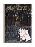 The New Yorker Cover - October 27, 1945 Regular Giclee Print par Edna Eicke