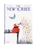 The New Yorker Cover - December 25, 1971 Regular Giclee Print by Ronald Searle