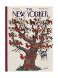 The New Yorker Cover - February 12, 1938 Giclee Print by Constantin Alajalov