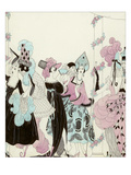 Vogue - January 1923 Giclee Print by Helen Dryden
