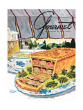 Gourmet Cover - July 1950 Regular Giclee Print by Henry Stahlhut