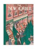 The New Yorker Cover - December 21, 1935 Regular Giclee Print by Ilonka Karasz