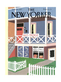The New Yorker Cover - June 29, 1987 Regular Giclee Print by Marisabina Russo