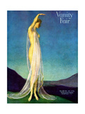 Vanity Fair Cover - March 1917 Giclee Print by Warren Davis