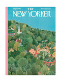 The New Yorker Cover - September 1, 1951 Regular Giclee Print by Ilonka Karasz