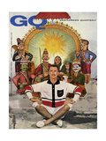 GQ Cover - June 1959 Regular Giclee Print by Emme Gene Hall