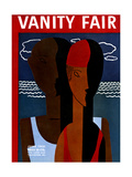 Vanity Fair Cover - June 1931 Regular Giclee Print by  Wadsworth