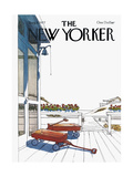 The New Yorker Cover - August 8, 1977 Giclee Print by Arthur Getz