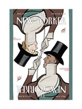 The New Yorker Cover - February 11, 2008 Giclee Print by  Seth