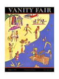 Vanity Fair Cover - August 1927 Regular Giclee Print by A. H. Fish