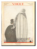 Vogue Cover - October 1920 Giclee Print by Georges Lepape