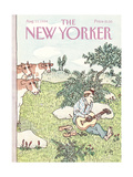 The New Yorker Cover - August 13, 1984 Regular Giclee Print by William Steig