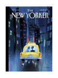 The New Yorker Cover - June 25, 2007 Reproduction procédé giclée par Lou Romano