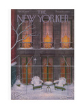 The New Yorker Cover - January 21, 1956 Giclee Print by Edna Eicke
