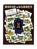 House & Garden Cover - February 1941 Regular Giclee Print by Robert Harrer