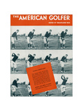 The American Golfer March 1932 Giclee Print