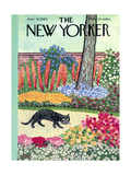 The New Yorker Cover - June 18, 1960 Reproduction procédé giclée par William Steig