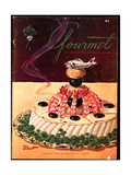 Gourmet Cover - March 1952 Giclee Print by Henry Stahlhut