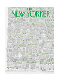The New Yorker Cover - April 21, 1973 Giclee Print by Raymond Davidson