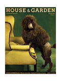 House & Garden Cover - February 1937 Giclee Print by Anton Bruehl