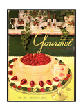 Gourmet Cover - June 1950 Regular Giclee Print by Henry Stahlhut