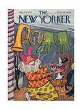 The New Yorker Cover - April 8, 1944 Giclee Print by Ludwig Bemelmans