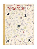 The New Yorker Cover - October 1, 1955 Giclee Print by Garrett Price